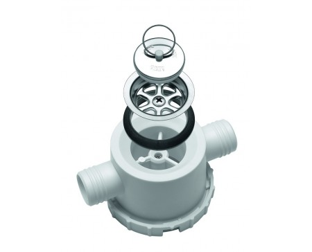 Siphon Dometic AC557 double Ø 25 mm