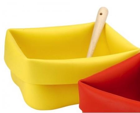 Seau flexible jaune