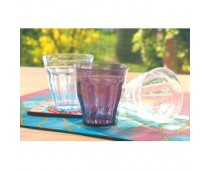 Verre St Barth en polycarbonate couleur prune