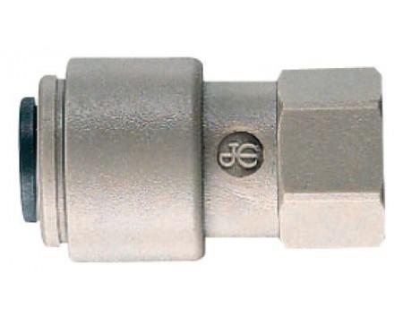 Union femelle 1/2 de 12 mm gris John Guest