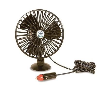 Ventilateur 12V oscillant dim 13cm Breeze