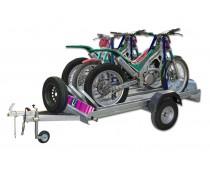 Porte-motos UR-3 motos avec plateforme Urbeni avec frein