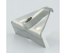 CLAME INOX FIXATION PORTES - SACHET DE 30