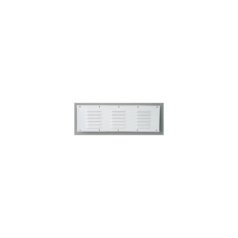 grille aluminium laque 400x130 blanc loisirs evasion. Black Bedroom Furniture Sets. Home Design Ideas