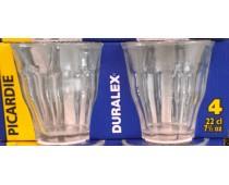 Boîte de 4 verres Duralex 22 cl