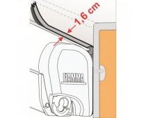Joint de store anti-pluie 1,6 cm