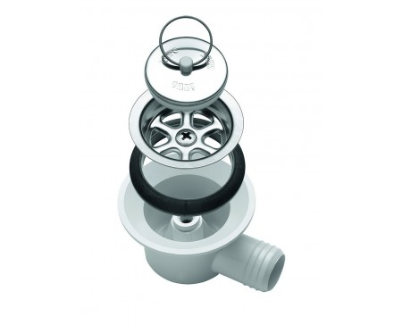 Siphon Dometic AC 530 coudé Ø 25 mm