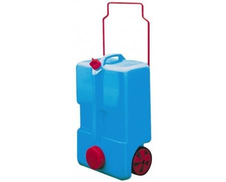 Réservoir d'eaux à roulettes 30L