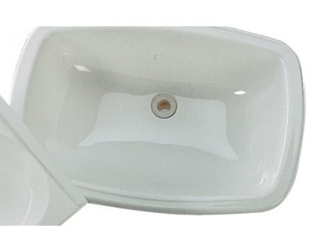 Lavabo blanc Chantal 390 x 300