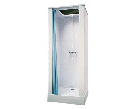 cabine de douche en plastique