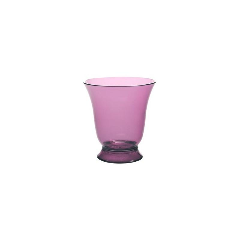 Verre eau en polycarbonate couleur prune loisirs evasion - Verre en polycarbonate ...