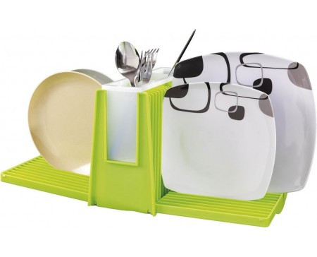 Egouttoir à vaisselle pliant en plastique WING