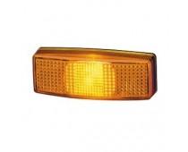 Feu de position latéral orange 110x40x25 mm