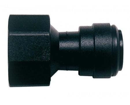Union femelle avec valve 3/4 de 12 mm John Guest