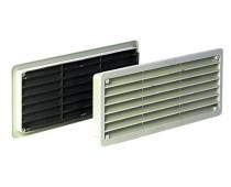 Grille 270x120mm blanche