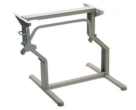Pied de table automatique gris PM