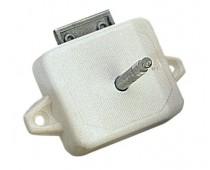 Boîtier seul de serrure toilette