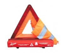 Trousse de sécurité Triangle + Gilet
