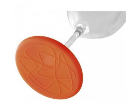 Sous-verres rond en silicone
