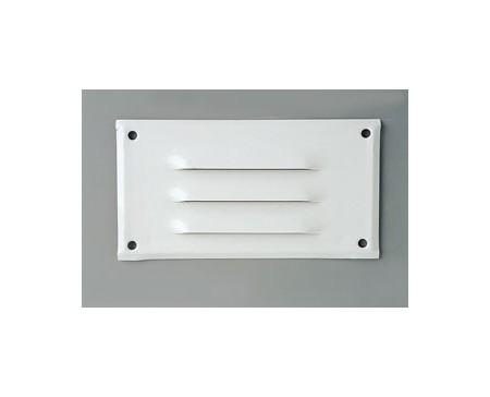 grille aluminium laqu blanc 130x70 loisirs evasion. Black Bedroom Furniture Sets. Home Design Ideas