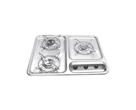 Plan de cuisson 3 feux Dometic Cramer CE94 DF EK2000 NIRO