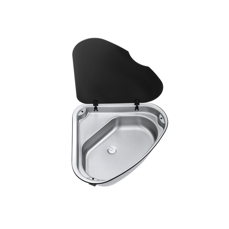 vier d 39 angle avec couvercle 48x48 cm. Black Bedroom Furniture Sets. Home Design Ideas