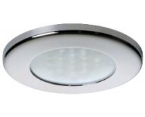Plafonniers LED Ø 72mm TED Inox