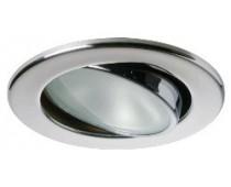 Plafonniers LED Ø 85mm orientable Nikita Inox