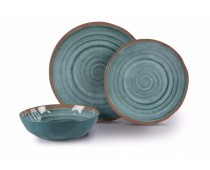 Kit vaisselle 12 pièces Terracotta