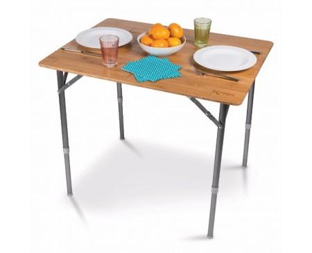 Table en bambou medium 60 x 80 cm kampa for Stores de bambou en plein air ikea