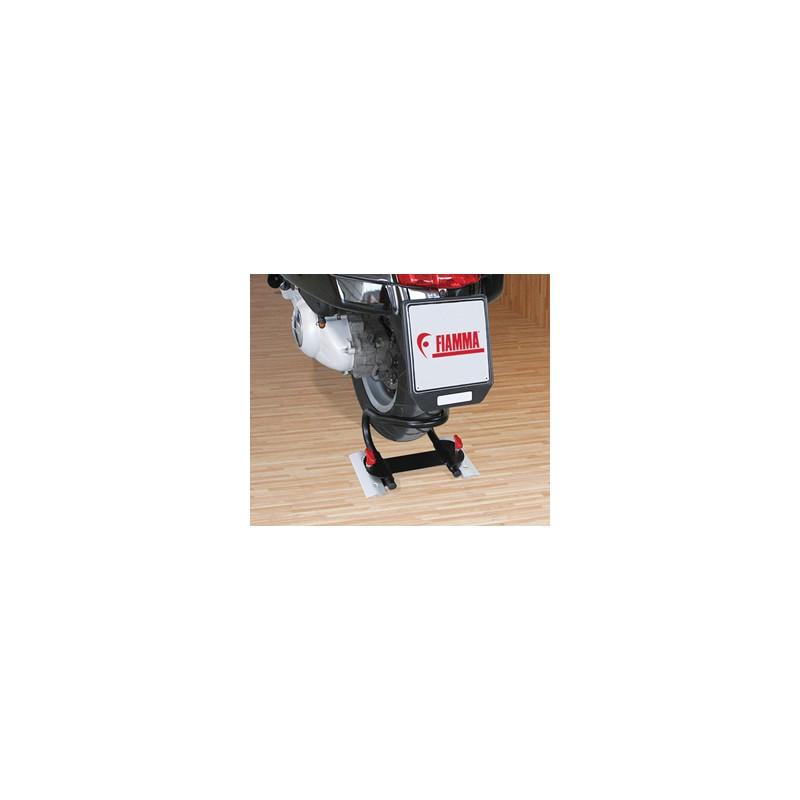 dispositif de blocage roue arri re moto wheel chock rear fiamma. Black Bedroom Furniture Sets. Home Design Ideas